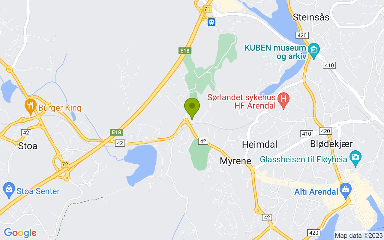Gårdsveien 7, 4847 Arendal