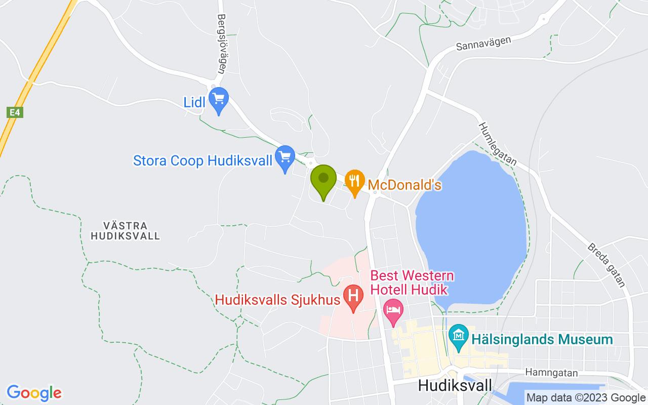 Kullbäcksvägen 8, 824 31 Hudiksvall